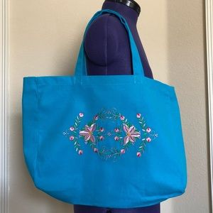 Gorgeous Embroidered Canvas Tote